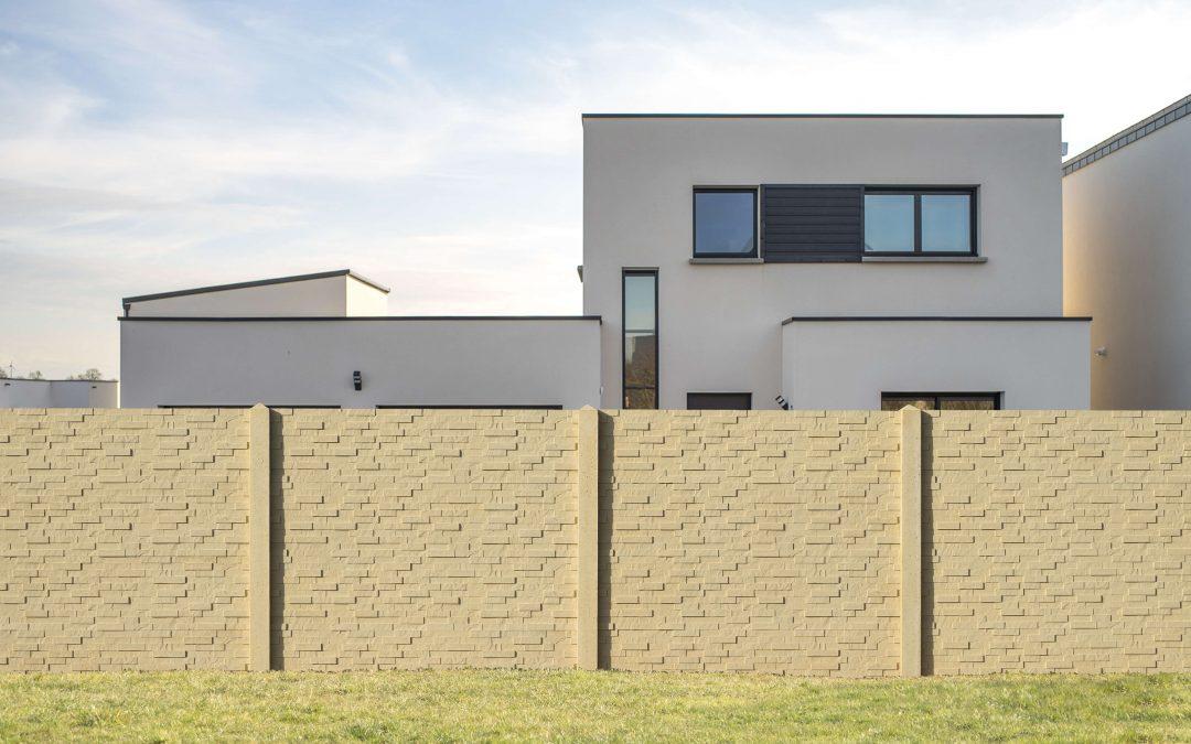 pose cloture beton