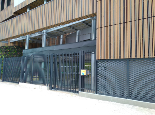 Sécurisation d'un centre de tri à Paris